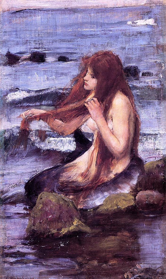 Name:  John_William_Waterhouse_-_A_Mermaid_(1892_sketch).jpg