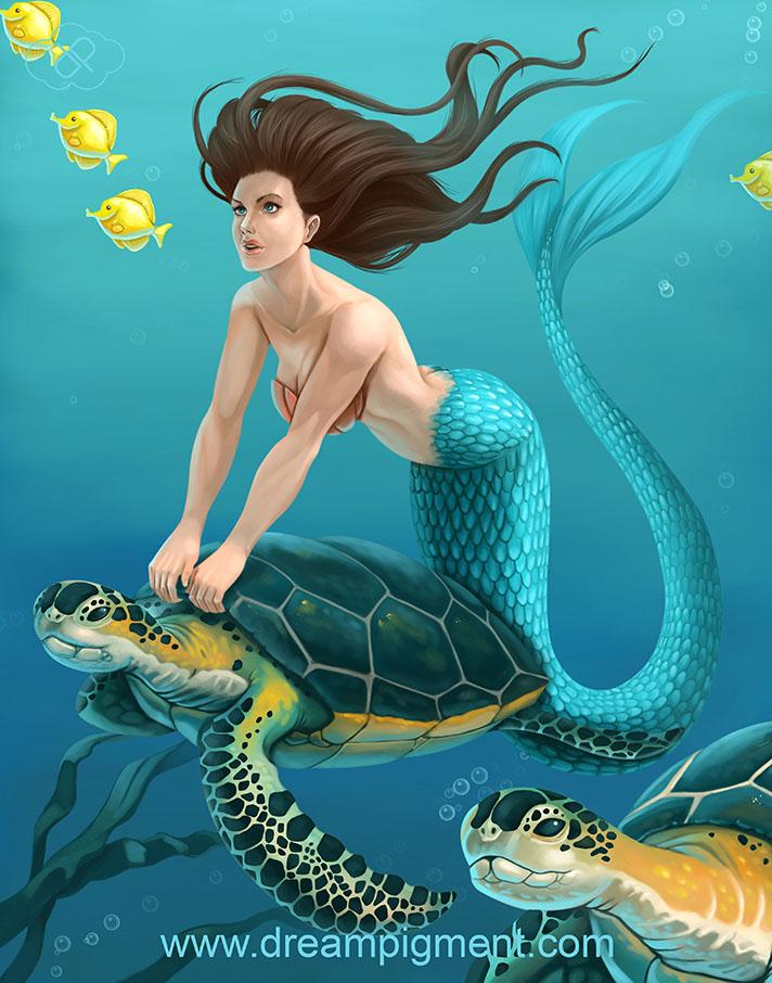 Name:  Mermaid_Seaturtle_11x14_BRANDING.jpg Views: 175 Size:  170.5 KB