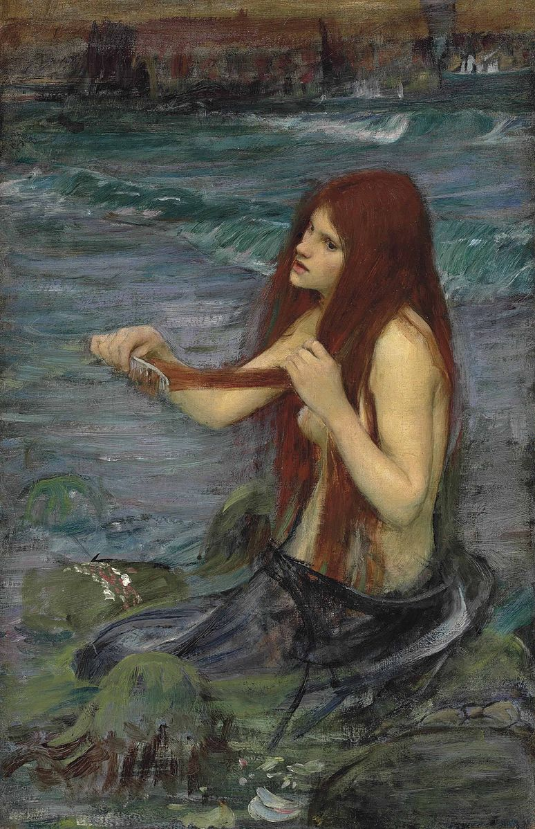 Name:  John_William_Waterhouse_-_A_Mermaid_(sketch).jpg