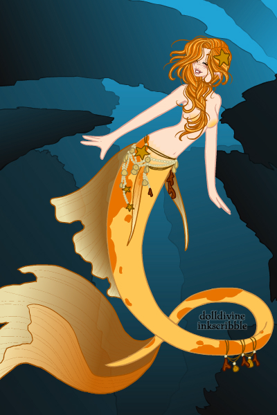 Name:  Melina Marina, goldfish mermaid.jpg